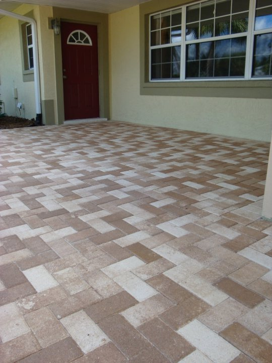 Paver Driveway Amp Entry Stonework Amp Hardscaping For