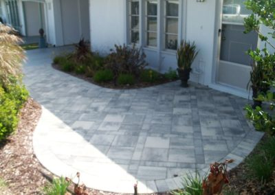 Paver Walkway Amp Entry Stonework Amp Hardscaping For