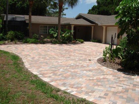 Paver Driveway Stonework Amp Hardscaping For Sarasota